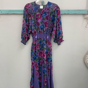🎯PRICE DROP🎯 Diane Freis Vintage Festival Dress